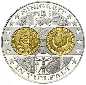 1200 Jahre Deutsche Münzgeschichte Medaillen In Silber Ankauf