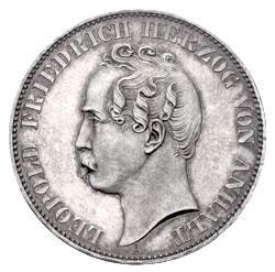 Anhalt Taler Münzen Aus Altdeutschland
