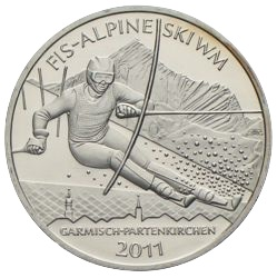 10 Euro Alpine Ski-WM 2011