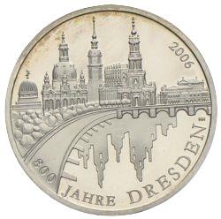 10 Euro 2006 800 Jahre Dresden Münzhandel Wolfgang Graf