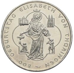 10 Euro 2007 Elisabeth Von Thüringen Münzhandel Wolfgang Graf