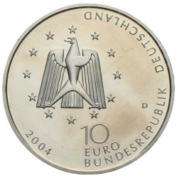 10 Euro ISS 2004