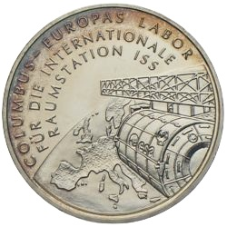 10 Euro ISS