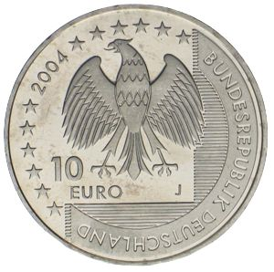 10 Euro Nationalparke Wattenmeer 2004