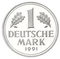 1 DM Deutsche Mark