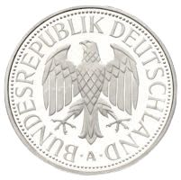 1 DM 1991 Deutsche Mark