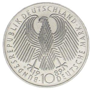 10 Mark 40 Jahre Brd Münzhandel Wolfgang Graf