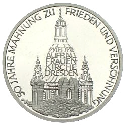 10 Mark Frauenkirche Dresden