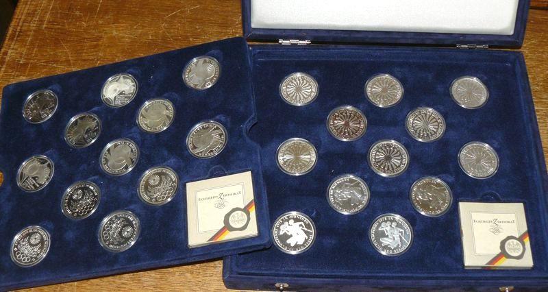 Fehlprägung 10 Dm Gedenkmünzen Olympiade 1972 Münzhandel W Graf