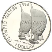 Cayman Islands Silber Dollar