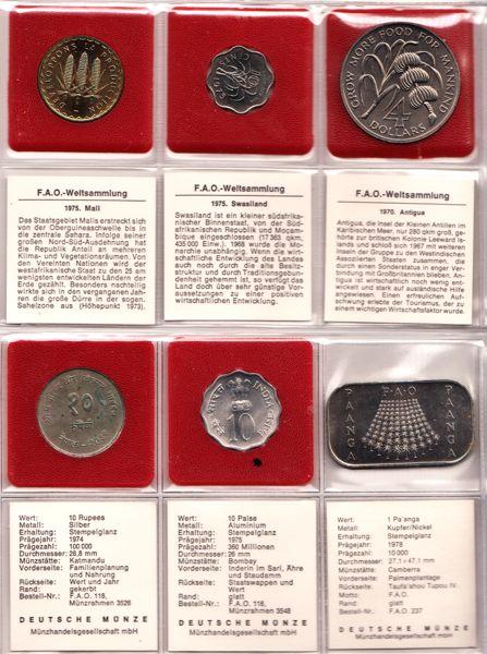 Fao Weltsammlung Fao Münzen Ankauf Münzhandel