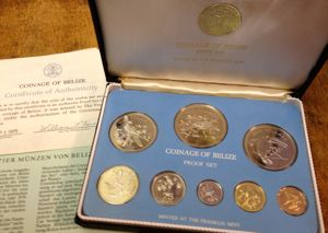 Franklin Mint Proof Set Belize Münzhandel Wolfgang Graf