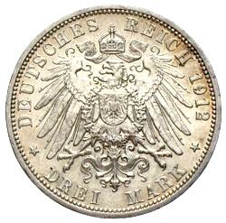 Silbermünzen Deutsches Kaiserreich 5 Mark 3 Mark 2 Mark