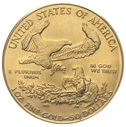 Liberty Eagel USA Gold