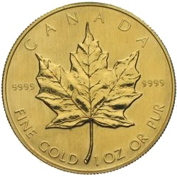 Maple Leaf Unze Gold