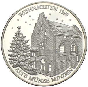 Alte Münze In Minden Münzhandel W Graf