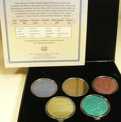 Münzen Aus Niob Münzhandel Wolfgang Graf