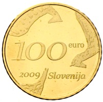 Slowenien 100 Euro Goldmünze Music 2005