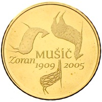 Slowenien 100 Euro Goldmünze Music
