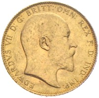Sovereign Edward VII. 1906 Großbritannien Gold