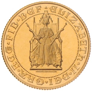 Gold Sovereign 500th anniversary 1989