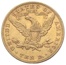 10 US Dollars Gold