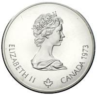 Ankauf Silbermünzen Olympiade Kanada Montreal 1976 Münzhandel