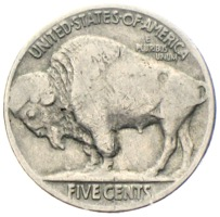 USA 5 Cent Buffalo Nickel 1935
