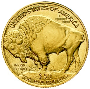 USA 50 Dollars Buffalo Indianer 2008 Gold Unze