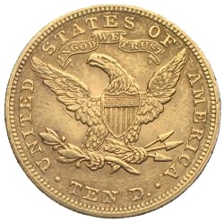 1895 US Eagle 10 Dollars