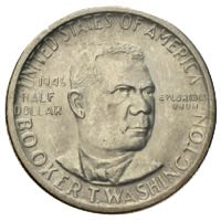 Booker T. Washington Half Dollar