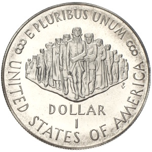 USA Dollar 1987 bicentennial constitution we the people