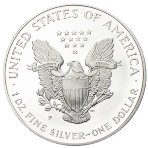USA Dollar Liberty Eagle 1 Unze Silber