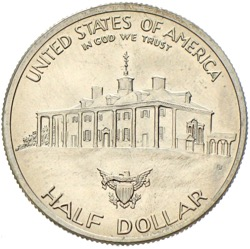 USA Dollar George Washington 250 Anniversary 1982