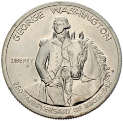 USA Dollar George Washington 250 Anniversary