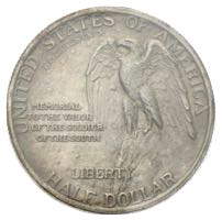 USA Stone Mountain Half Dollar von 1925