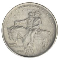 USA Stone Mountain Half Dollar 1925