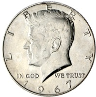 USA Kennedy Half Dollar