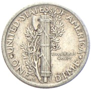 USA Mercury Dime